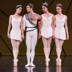 Ako Kondo, Cristiano Martino, Robyn Hendricks and Amber Scott, Symphonic Variations, the Australian Ballet, photo © Daniel Boud
