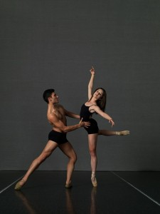 Dimitri Kleioris and Lucy Green, photographer unknown