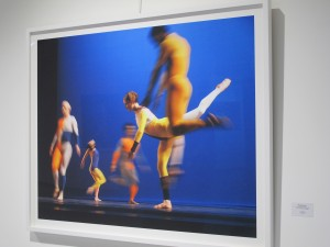 An image from Baryshnikov's photographic exhibition, Dancing Away, 2014
