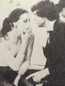 Maya Plisetskaya with Michael Edgley, from The Australian Women's Weekly, 14 July 1976