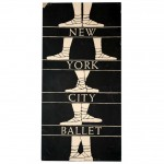Edward Gorey's poster for New York City Ballet