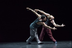 Brigel Gjoka and Riley Watts, Duo, photo © Bill Cooper