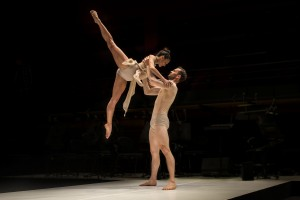 Sydney Dance Company, Triptych, Simple Symphony, Janessa Dufty and Bernhard Knauer,  photo © Peter Grieg