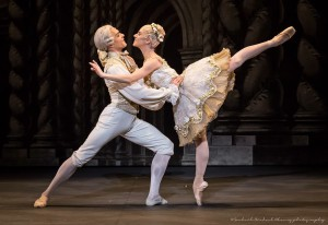 Denys Nedak and Paloma Herrera, The Sleeping Beauty, American Ballet Theatre, photo © Souheil Michael Khoury