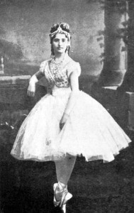 Giuseppina Bozzachi, the first Swanilda in Coppelia, 1870