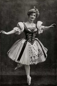 Adeline Genée as Swanilda in Coppelia
