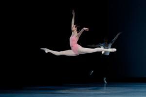 Amber Scott in George Balanchine's Symphony in Three Movements, photo © Jeff Busby