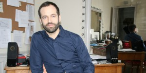 Benjamin Millepied in his office at the Palais Garnier, January 2015, photo © Sophie Jouve/Culturebox