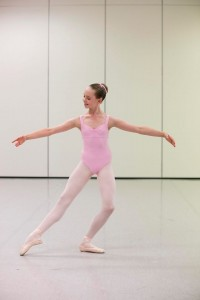 John Byrne's ballet syllabus, Emilie, photo © Lynette Wills