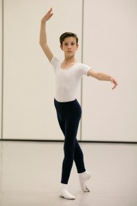 John Byrne's Ballet Syllabus, Ethan, photo © Lynette Wills