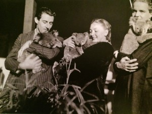Anton Dolin, Irina Baronova, Otis Pearce, Australia, 1938/39, photographer unknown
