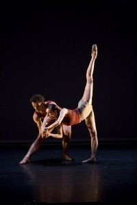 Mara Galeazzi and Gary Avis, in the 2009 ballet gala, A Dream of Africa, photo © Bill Cooper