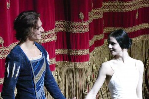Sergei Polunin and Natalia Osipova, curtain call after Giselle at La Scala, Milan, April 2015
