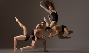 Jacinthe Burton, Jesus Olivera, Alyssa Maksym and Jason Garcia Ignacio of Eryc Taylor Dance, 2013, photo © Lois Greenfield