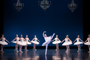 Leanne Stojmanov and artists of the Australian Ballet, Symphony in C, photo © Daniel Boud