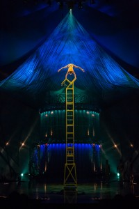 Chair Balancing Act, Photo: Matt Beard Costumes: Marie-Chantale Vaillancourt  © 2012 Cirque du Soleil