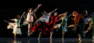 Ghost Dances, choreographed by Chistopher Bruce, artists of the Houston Ballet, photo © Amitava Sarkar