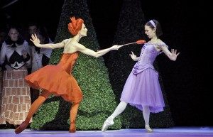 Greta Hodgkinson and Jillian Vanstone, Alice's Adventures in Wonderland, National Ballet of Canada, photo © Cylla Von Tiedemann
