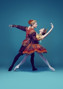 Kevin Jackson and Leanne Stojmenov, Nutcracker, the Story of Clara, Australian Ballet, photo © Justin Ridler