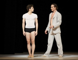 Guillaume Côté and Jirí Jelinek (as Diaghilev), Nijinsky, National Ballet of Canada photo © Aleksandar Antonijevic