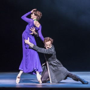 Lauren Cuthbertson as Hermione and Edward Watson as Leontes,The Winter's Tale, Royal Ballet, photo © Johan Persson