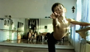 Sergei Polunin, still from Dancer, the documentary