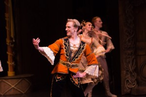 David Hallberg, as Franz in Coppelia, Australian Ballet, photo © Kate Longley