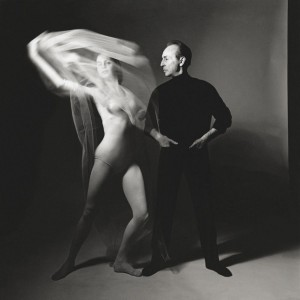 George Balanchine and Suzanne Farrell, photo © Bert Stern