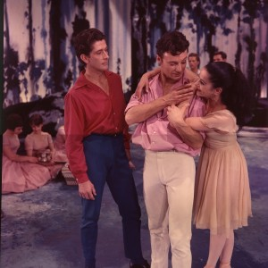 Garth Welch, Bryan Lawrence and Kathleen Gorham, The Display, Australian Ballet, 1964