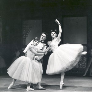 Barbara Chambers, Bryan Lawrence and Elaine Fifield, Le Conservatoire, Australian Ballet, 1965