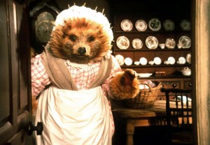 Mrs Tiggy-Winkle in the ballet The Tales of Beatrix Potter