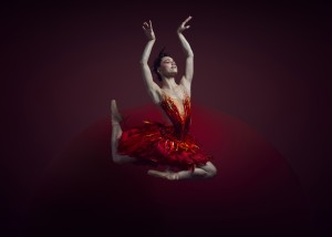 Lucy Green, Firebird, Queensland Ballet, photo © Justin Ridler