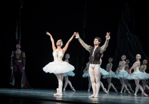 Misty Copeland and Herman Cornejo, Swan Lake,  photo © Kent G. Becker