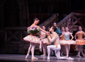 Misty Copeland and Jeffrey Cirio, Don Quixote, photo © Kent G. Becker