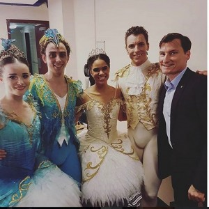 Jade Wood, Marcus Morelli, Misty Copeland, Kevin Jackson and David McAllister @mistyonpointe