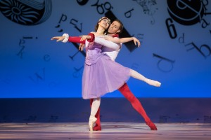 Ako Kondo and Ty King-Wall, Alice's Adventures in Wonderland, photo © Daniel Boud