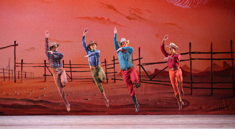 Agnes De Milles Rodeo ABT Marks The 70th Anniversary Of